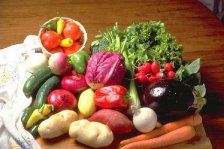 Eat plenty of fruits and vegetables, whole grains and beans, poultry, and fish.